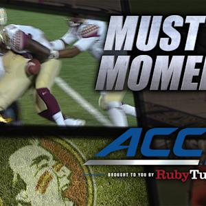 FSU Scores Touchdown on Butt Fumble   ACC Must See Moment