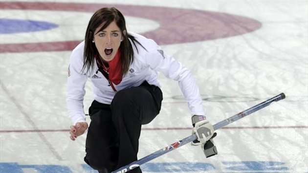 Eve Muirhead, Great Britain, Sochi Olympics (Reuters)