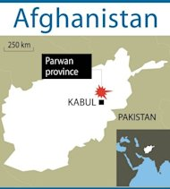 A map of Afghanistan locating Parwan province. A manhunt is under way for Taliban militants who publicly executed a woman accused of adultery, as outrage mounted after a video of the cold-blooded killing surfaced