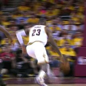 LeBron's Lefty Layup
