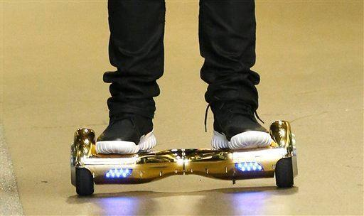 Mom Says Son's Hoverboard Exploded, Decimated Home