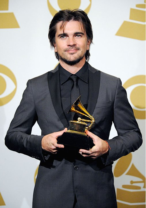 The 55th Annual GRAMMY Awards - Press Room: Juanes