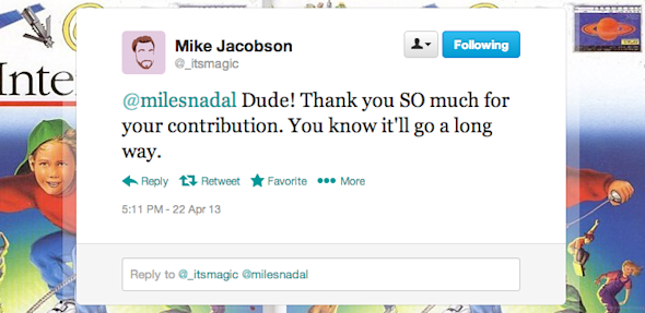 twitter mike jacobson nadal