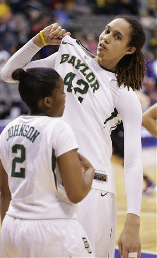 Griner, Baylor dominate K-State in Big 12 quarters