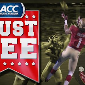 FSU Kelvin Benjamin TD Catch Over Duke Defender | ACC Must See Moment