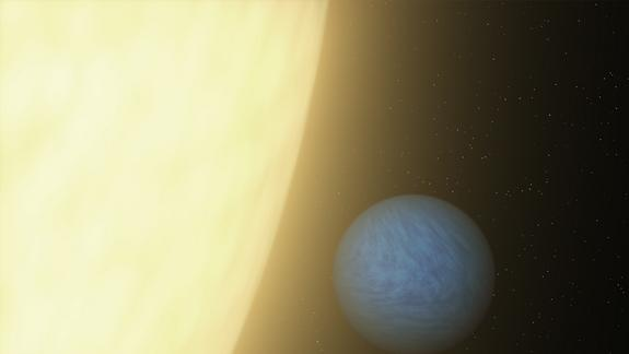 Light from Alien Super-Earth Seen for 1st Time