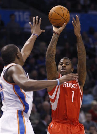 Thunder beat Rockets 109-94 to open busy stretch