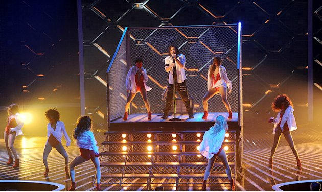 "Josh Krajcik performs ""Dirty Diana"" by Michael Jackson on ""The X Factor."""