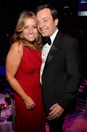 Nancy Juvonen and Jimmy Fallon attend TIME 100 Gala, TIME'S 100 Most Influential People In The World at Jazz at Lincoln Center on April 23, 2013 in New York City -- Getty Premium