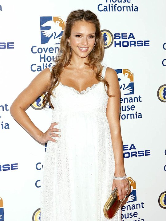 Jessica Alba Covenant House