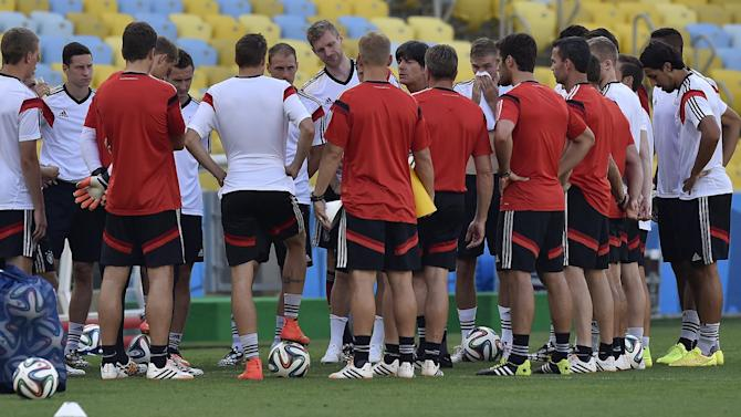 Germany coach: best is yet to come at World Cup