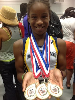 Is Briana Williams, 11, the next great U.S. female track star? -- Facebook