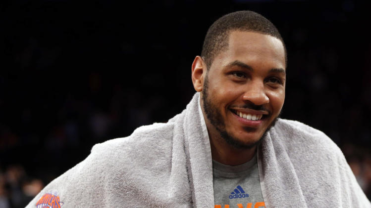 Carmelo Anthony is taking $62 million of his new five-year deal…