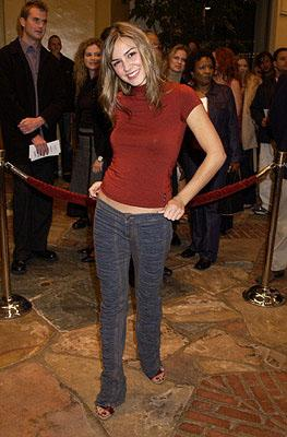 Samaire Armstrong at the Westwood premiere of Shallow Hal