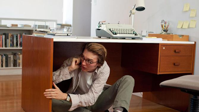 """This undated film image released by Fox Searchlight Pictures shows Paul Dano in a scene from """"Ruby Sparks."""" (AP Photo/Fox Searchlight Films, Merrick Morton)"""