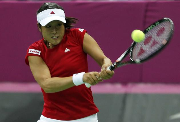 Russia v Japan - Fed Cup World Group - Day Two