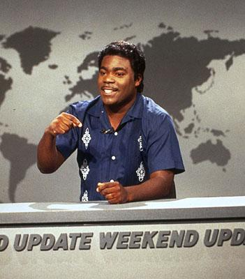 Tracy Morgan as Dominican Lou on NBC's Saturday Night Live Saturday Night Live