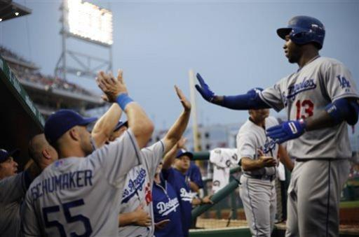 Ethier homers in 9th; Dodgers top Nationals 3-2