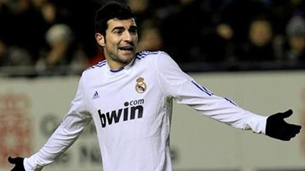 2010-11 La Liga Real Madrid Raul Albiol