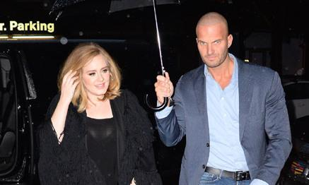 Adele's handsome Dutch bodyguard Peter Van Der Veen used to protect Lady Gaga