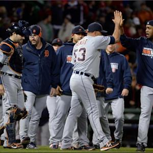 Tigers Beat Red Sox In Game 1 Of ALCS: Detroit Pitchers Combine For One-Hitter In 1-0 Victory