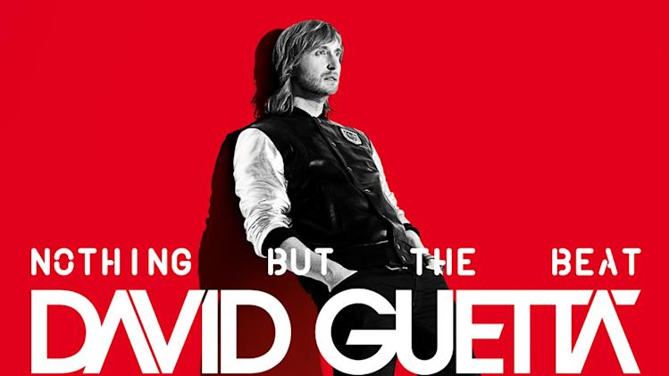 "In this CD cover image released by Capitol Records, the latest release by David Guetta, ""Nothing But the Beat,"" is shown. (AP Photo/Capitol Records)"