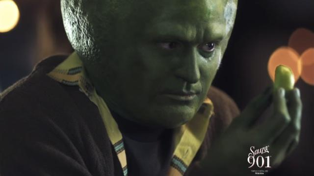 Why Is Justin Timberlake a Creepy Giant Lime-Head?