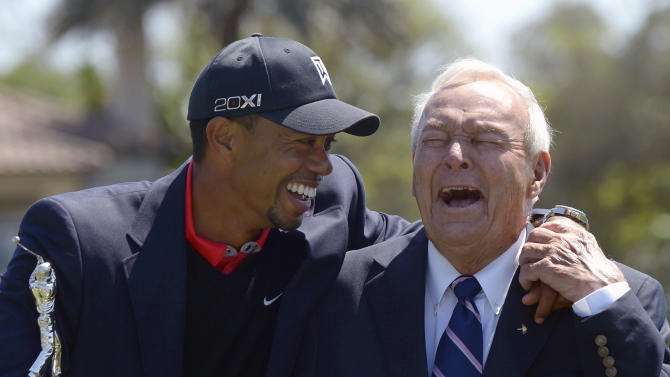 Column: Masters seems a bit empty without Woods