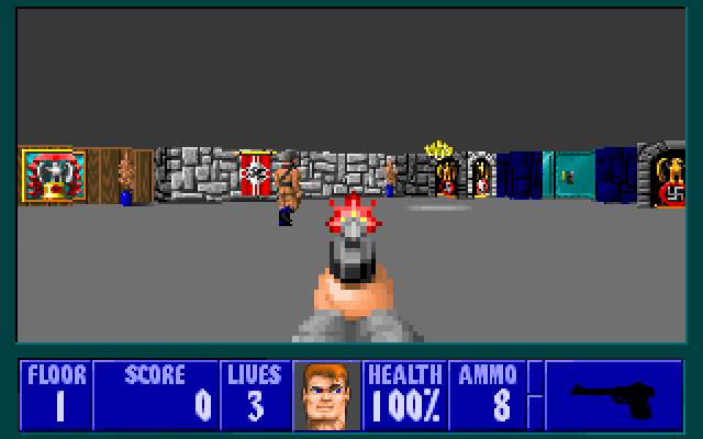 'Wolfenstein 3D' free on the iPhone, iPad and on the Web