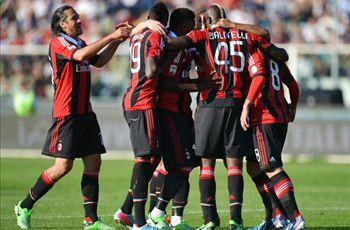 Pescara 0-4 AC Milan: Balotelli double solidifies third spot