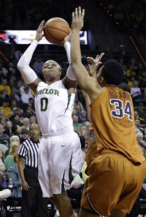 Sims leads No. 9 Baylor women past Texas 87-73