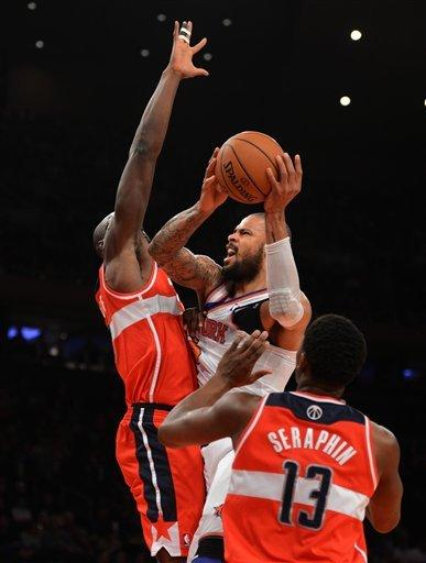 Knicks beat Wizards for 10th straight time
