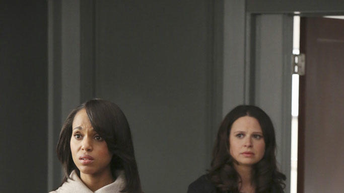 """Scandal"" -- ""Whiskey Tango Foxtrot"" KERRY WASHINGTON, KATIE LOWES"