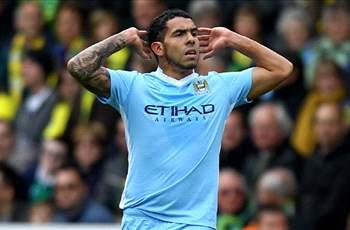 Tevez dismisses AC Milan talk after claiming he is 'settled' at Manchester City