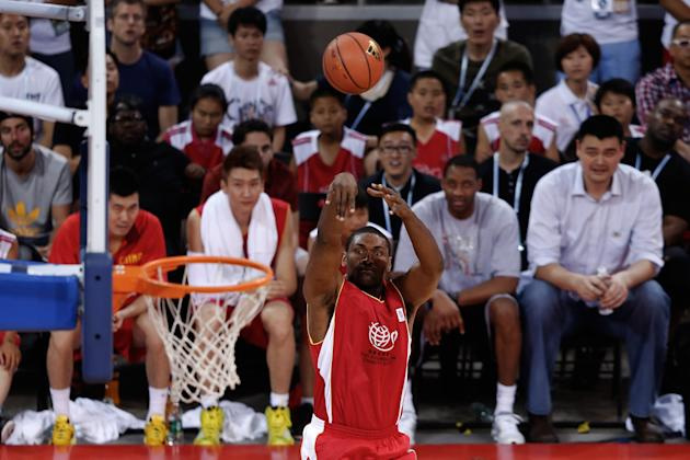2013 Yao Foundation Charity Game - China v NBA Stars