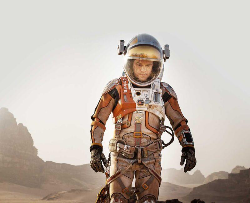 """""""The Martian"""" lands at number one"""