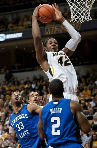 No. 12 Missouri surges past Tennessee State