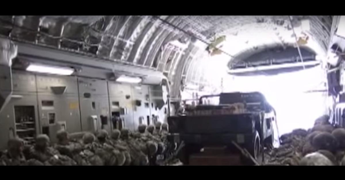 Ever Seen A Humvee Dropped From A Plane?!