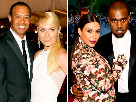 Tiger Woods Gets Tipsy and Embarrasses Lindsey Vonn at Met Ball Party, Kanye West Serenades Kim Kardashian: Today's Top Stories