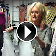 Company's fashion cupboard is a very special place - and we want to share what goes on in there with you! Our fashion intern Ruby takes you on a tour and reveals her fave pieces she's found in the cupboard this week