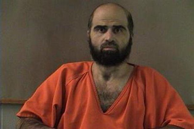 Accused Fort Hood shooter Nidal Hasan (REUTERS/Bell County Sheriff's Office/Handout)