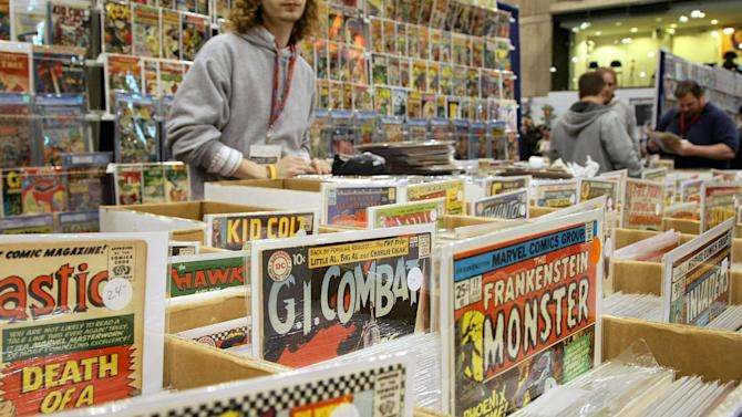 Those comic books in your basement could be gold
