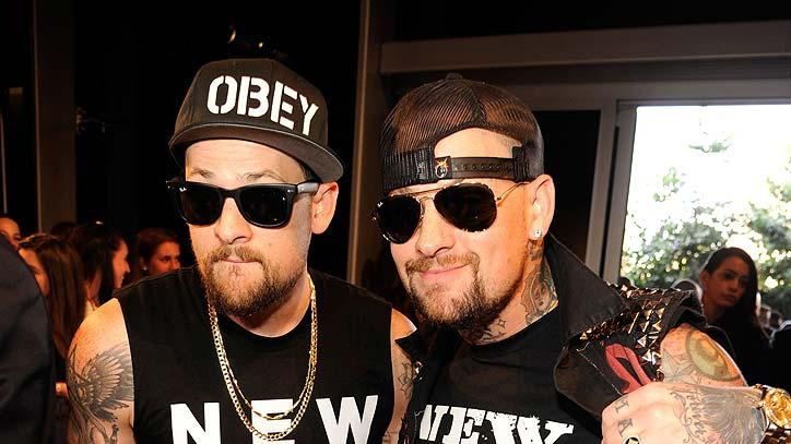 Joel Benji Madden MTVVM As