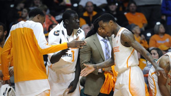 Tennessee's Barton bouncing back from slump