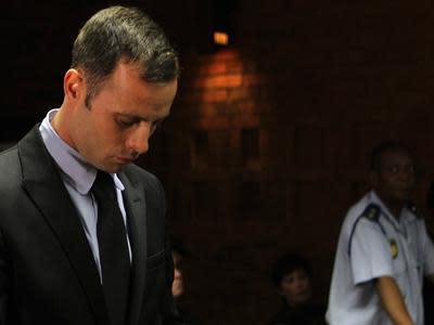 Raw: Pistorius Arrives in Court