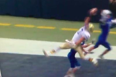 High school receiver makes 2 catches so incredible he should go straight to the NFL
