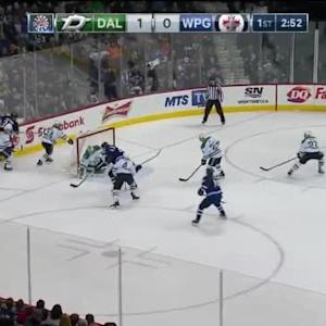 Kari Lehtonen Save on Blake Wheeler (17:09/1st)