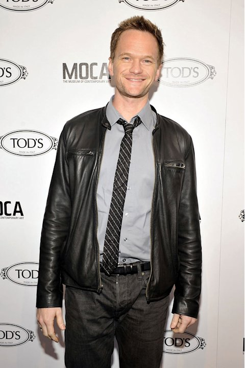 Neil Patrick Harris poses for a picture at Diego Della Valle's Celebration of Tod's Boutique and MOCA's Jeffrey Deitch on April 15, 2010 in Beverly Hills, California. 