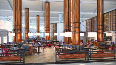 Newark Airport Plans Futuristic Airport Dining Dreamland in Terminal C