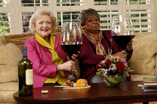 "Betty White and Reatha Grey as seen on ""Betty White's Off Their Rockers."""